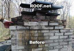 Image of Chimney Leak Repair in Virginia
