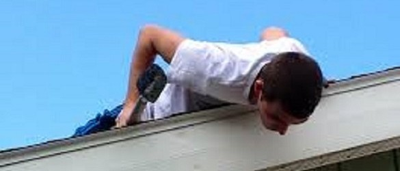 Climbing On Your Roof is Dangerous