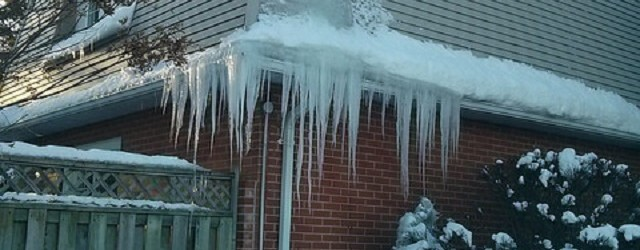 Ice Dams Can Dampen Your Holiday Spirits
