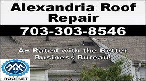Video of an Alexandria roof repair