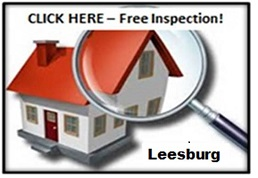 Image of a free roof inspection in Leesburg Virginia