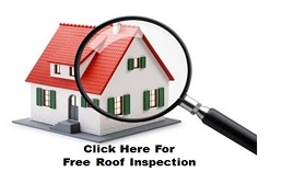Image of a free roof repair inspection in Lansdowne Virginia that locates all types of roof leaks