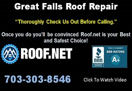 Image of Great Falls Roof Repair in Virginia