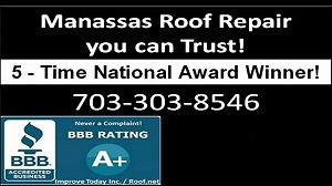 Video of a Manassas Roof Repair