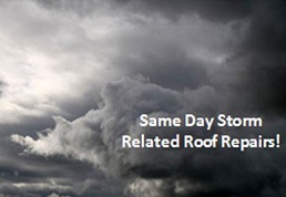 Image of a storm that can damage your roof which will require annual maintenace in Alexandria Virginia