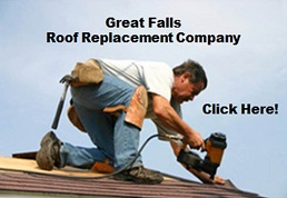 Image of a roofer from Great Falls Virginia Roof Replacement Company