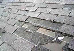 Replace missing shingles in Gainesville Virginia image.