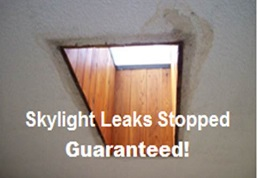 This image is just an example how a roof leak in Manassas Virginia should never be ignored