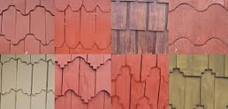 Different shingles for different homes in Fairfax City