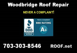 This video of our Woodbridge Virginia roof leak repair explains how we offer same day roof repair and that we have never had a customer complaint.