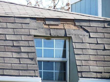 Photo of when a Reputable Roof Repair Company is not used