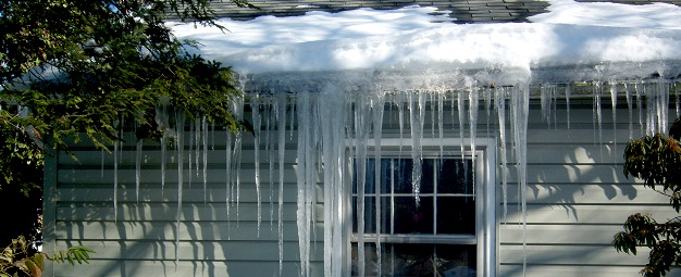 I'm afraid of getting an ice dam on my roof.