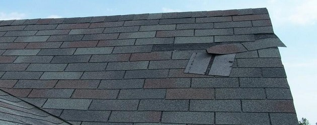 Why do my shingles keep blowing off?