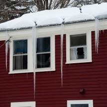 It's The Season Of Ice Dam Build-ups