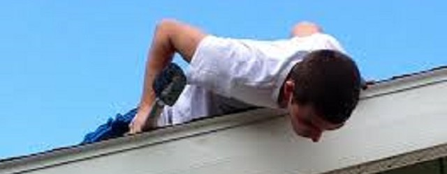 Gutter Cleaning And Roof Repair In Woodbridge