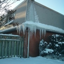 Ice Dams On Your Roof And Water Leaking In Your Home