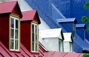 Colored Roofs