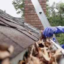 Wear Gloves while Doing Your Gutter Cleaning