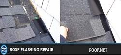 Roof Flashing Leak Repair image in Virginia