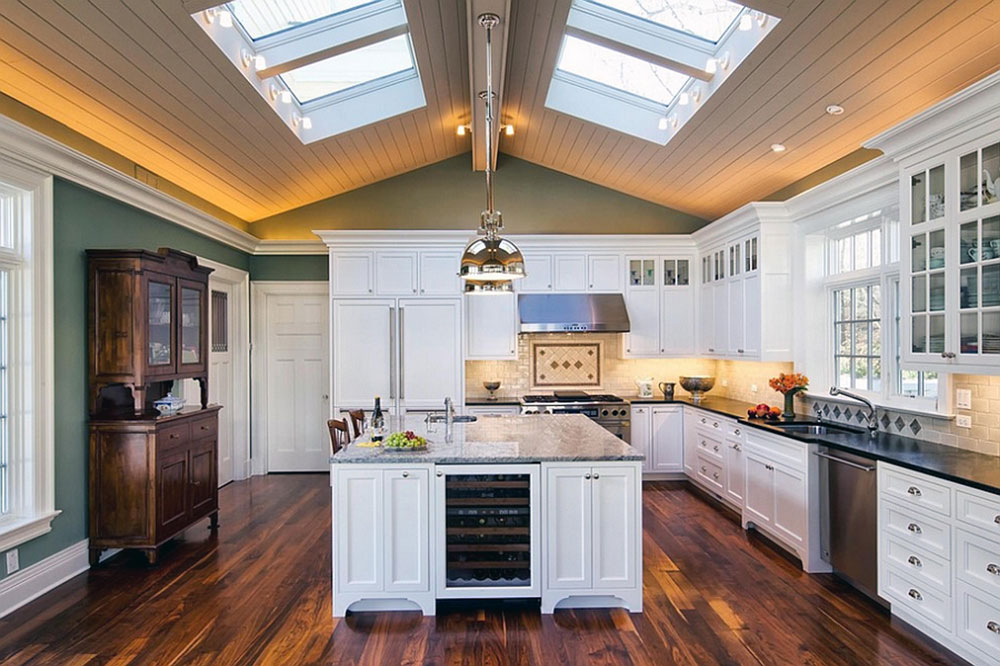 Kitchens With Skylights For More Natural Light 1