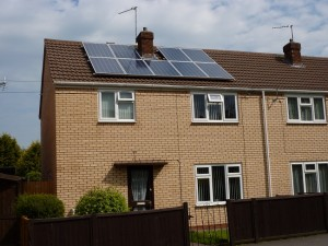 solar panels brown