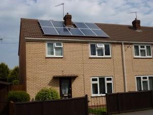 solar panels brown