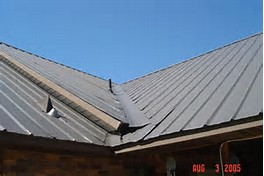 metal roof valley aluminum