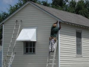 siding roof