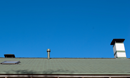 house roof chimney