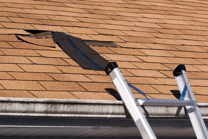 heat damage roof repair