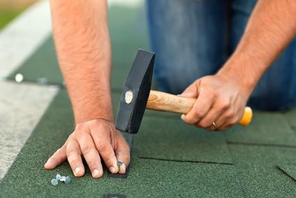 heat damage roof repair