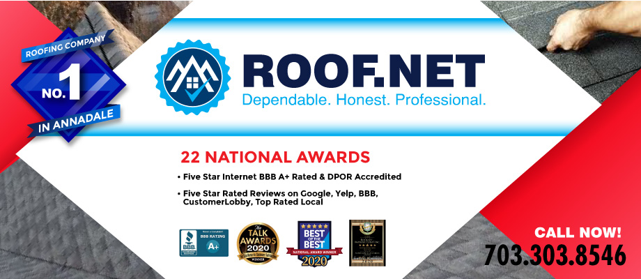 Looking For The Best 5-Star Rated Roofer In Annandale, VA?